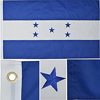 Amazoncom Honduras Ft X Ft Printed Polyester Flag Garden - Honduran flag