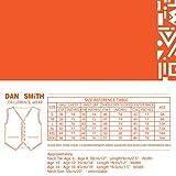 Dan Smith DGDE0011-12 Black Children Solid Vest
