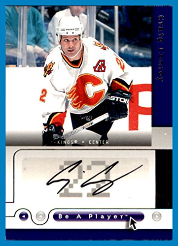 Craig Conroy Autographs - 2005-06 Be A Player BAP AUTOGRAPH Signatures #CO Craig Conroy CALGARY FLAMES LOS ANGELES KINGS