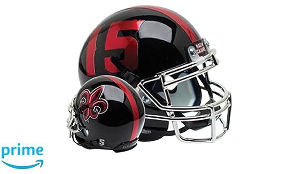Fleur Alt Schutt NCAA Louisiana Lafayette Rajin Cajuns Mini Authentic XP Football Helmet 1 Mini