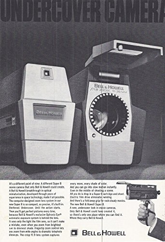 e Advertisement Bell & Howell, Undercover camera ()
