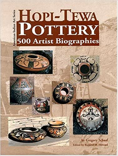 Hopi Tewa Pottery 500 Artist Biographies Ca 1800 Present With