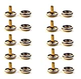 Snap Cap & Socket, Extra Long Post 5/16'' Inch Nickel Plated Brass (500 Piece Set)