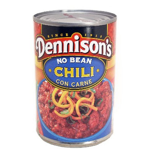Dennison's, No Bean Chili Con Carne, 15oz Can (Pack of 12) by Dennison's