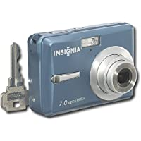 Insignia NS-DSC7B09 7MP Digital Camera BLUE Advantages Review Image