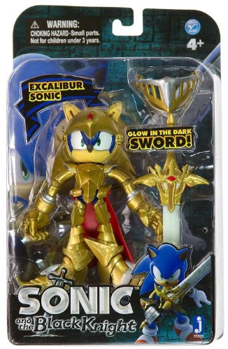 """Jazwares Sonic and The Black Knight Excalibur 4"""" Action Figure"""