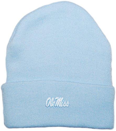 (Creative Knitwear Ole Miss Rebels Newborn Knit Cap)