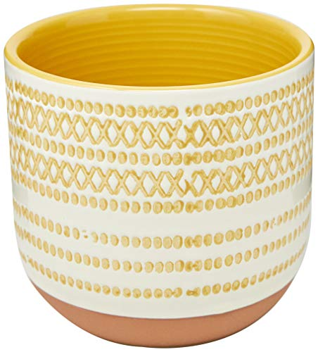 Guido Cachepô 10 * 11cm Ceramica Multicol Av Home & Co Único