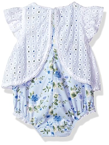 b7915ddeae9 Jual Mud Pie Baby Girls Eyelet and Floral One Piece Crawler ...