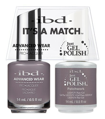 ibd Advanced Wear Color Duo Patchwork #565 UV Gel Color by I