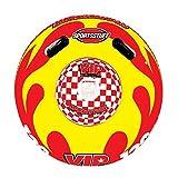 Kwik Tek Sportsstuff Sportstube VIP Inflatable Towable Single Rider Water Tube   53-1116