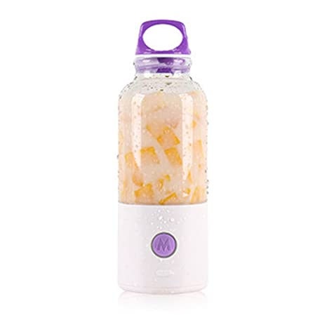 lzndeal exprimidor eléctrico 700 ml botella de carga USB verduras frutas Mixer Copa zumo de manzana