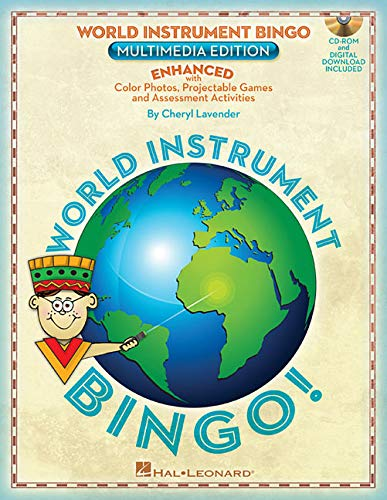 World Instrument Bingo: Digital Edition: Enhanced with Color Photos, Projectable Games & Assessments