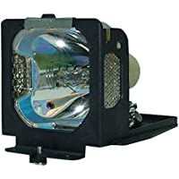 AuraBeam Professional Replacement Projector Lamp for Sanyo POA-LMP55 With Housing (Powered by Philips)