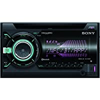 Sony WX900BT 2-DIN CD Receiver with Bluetooth (Black)