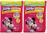 Health & Personal Care : Pull-Ups Learning Designs Potty Training Pants for Girls, 4T-5T (38-50 lb.), 18 Count with Bonus Magnetic Diaper Size and Weight Chart (Pack of 2)