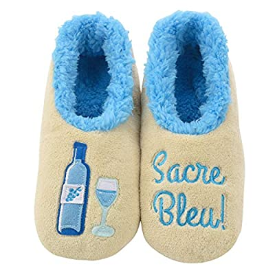 Snoozies Pairables Womens Slippers - House Slippers - Sacre Blue