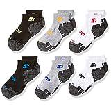 Starter boys Big Boys 6-pack Quarter-length Athletic Socks