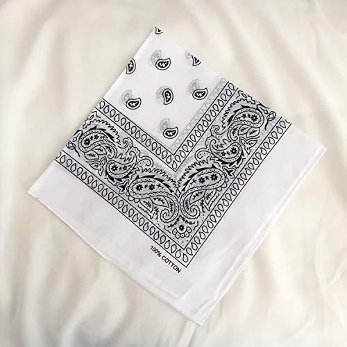 Qinlee Kleiner Quadratische Halstuch Multifunktional Taschent/ücher DIY Kopftuch Fr/ühling-Sommer Taschentuch Bandana Haar Gestylten f/ür Unisex
