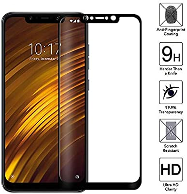 LOUQBH 2 Piezas de Vidrio Templado para Xiaomi Mi A2 Lite Pantalla ...