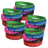 WWJD Bracelets for Women, Men & Kids | 5 Colors