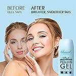 Ebanel Face Scrub Face Exfoliator Facial Peeling Gel, 122ml Microdermabrasion Scrub to Remove Dead Skin when Hydrating, Added Vitamin C,E,Peptide for Brightening Moisturizing Radiant Silky Skin