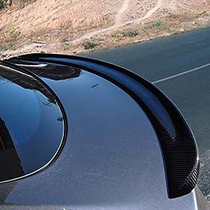 Spoiler, Tesla Model S Rear Trunk Spoiler Lip, Carbon Fiber, for Sedan 2012-2018, Factory Style