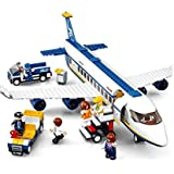"Air-Bus"" Plane ModelToyfor Kids Sluban Private Jet Plane Assembling Toys 3D Educational Toy Building Block Set 463 Pieces"