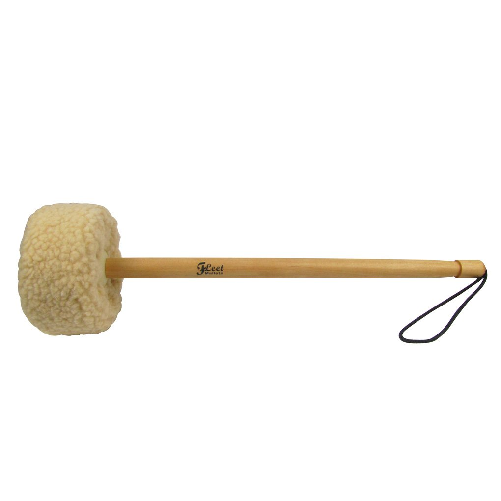 IKN Gong Mallet Big--Wood Core, Wool iknmusic 10815202
