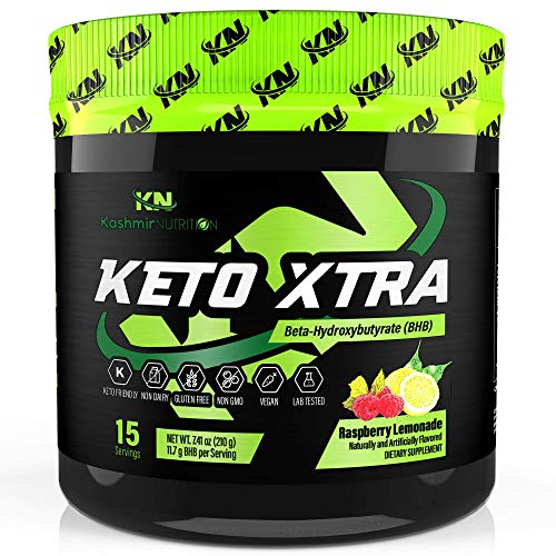 KETO XTRA   Best Tasting Exogenous Ketones Supplement   BHB Salt Drink Powder Mix Perfect for Keto Diet   11.7g goBHB Beta-Hydroxybutyrate   Formulated for Quick Ketosis, Energy, Fat Burn, and Focus