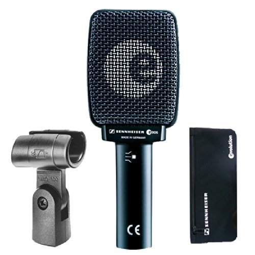 Sennheiser E906 Instrument Microphone Bundle with Amp Mic Stand and Cable by Sennheiser