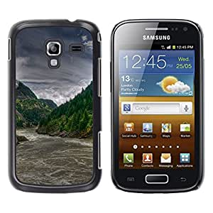 iKiki Tech / Estuche rígido - Forrest río Rapids - Samsung Galaxy Ace 2