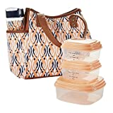 Best Lunch Bags For Ladies - Fit & Fresh Ladies' Westerly Insulated Lunch Bag Review