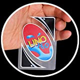 Standard 108 UNO H2O Waterproof Game Playing Cards Family Travel Instruction Fun