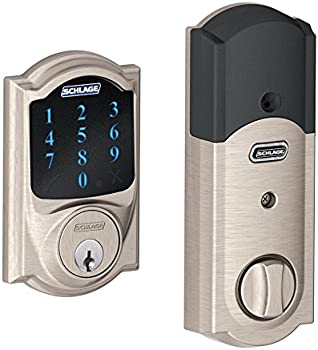 Schlage Connect Camelot Electronic Entry Door Deadbolt