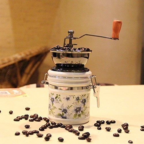 Molinillo de café sellado de cerámica del tarro