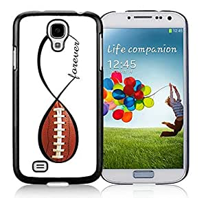 Newest S4 Case Best Samsung Galaxy S4 I9500 Case Black Cover American Football Forever Infinity Forever