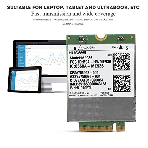 fosa Replacement Internal 100Mbps 4G LTE FDD M.2 Module Card NGFF Interface Windows/Android/ Chrome by fosa (Image #2)