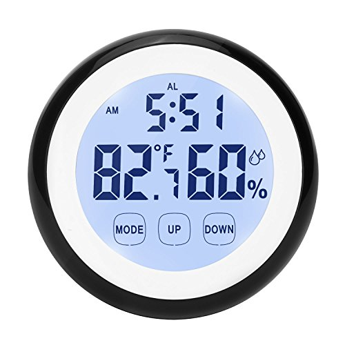 Digital Thermometer Humidity Monitor Touchscreen