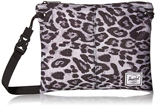 Herschel Alder Cross Body Bag, Snow Leopard, One Size