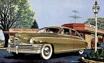 1949 Packard Eight Touring Sedan - Promotional Advertising Poster