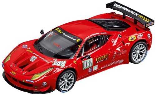 1/32 Carrera Analog Slot Cars - Ferrari 458 GT2 - Risi Competizone Ferrari - No.62 (27383) by Carrera