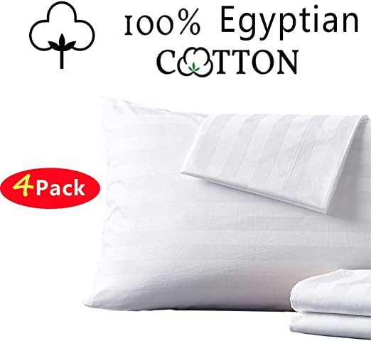 Amazon Com Shunjie Home 100 Egyptian Cotton King Pillow