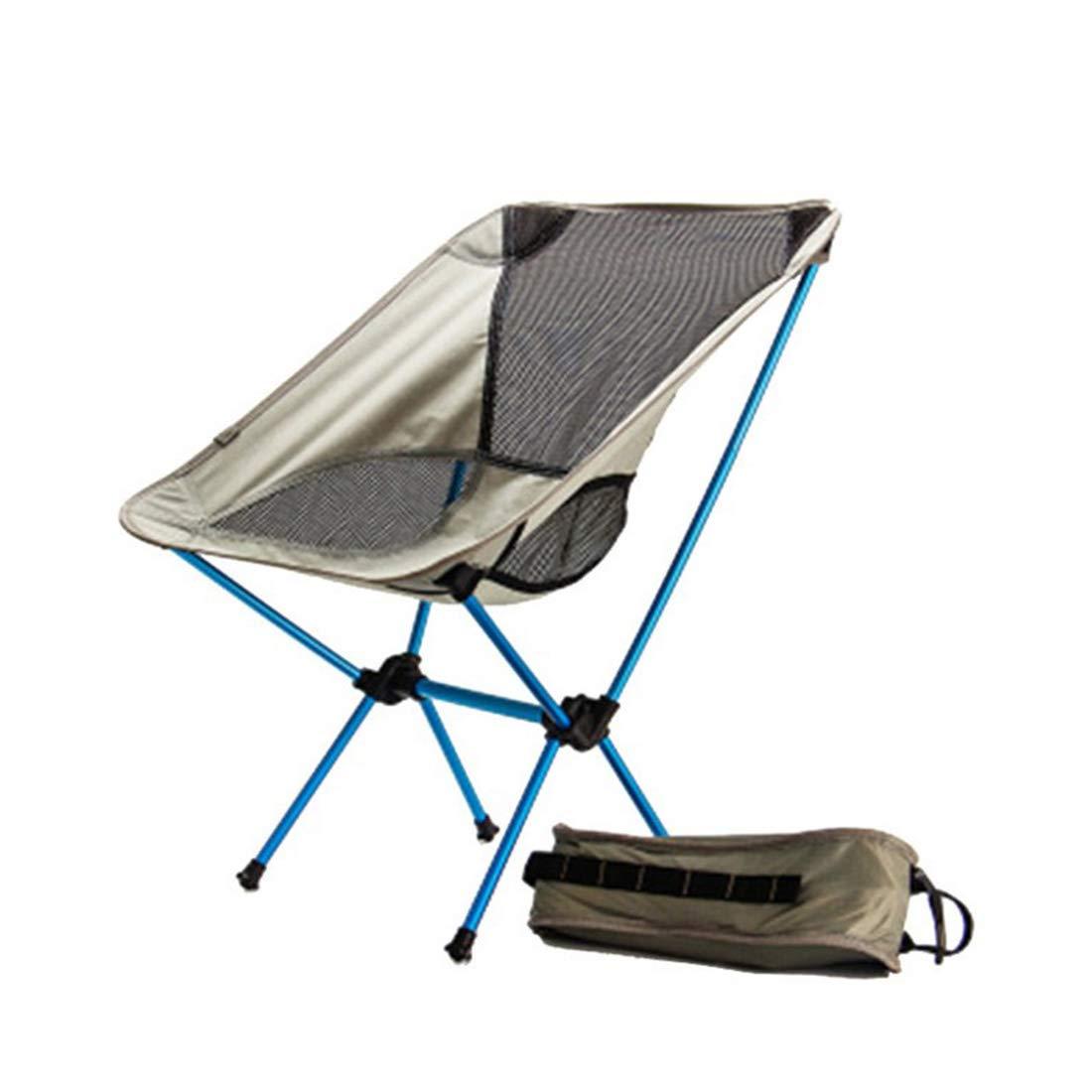 FUBULECY Outdoor Camping Luftfahrt Aluminiumlegierung Klapp Angeln Stuhl.