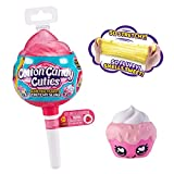 Oosh Cotton Candy Cuties Scented, Squishy, Stretchy Slime with Collectible Cutie Slow Rise Toy (Pink) by ZURU