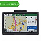 GPS for Car, Portable GPS Navigation System for Car 7 inch Touchscreen Built-in