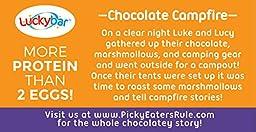 Luckybar - Chocolate Campfire Protein Bar - 12 Count