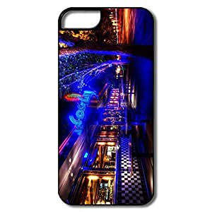 IPhone 5/5S Cases, Diner Case For IPhone 5 5S - White/black Hard Plastic