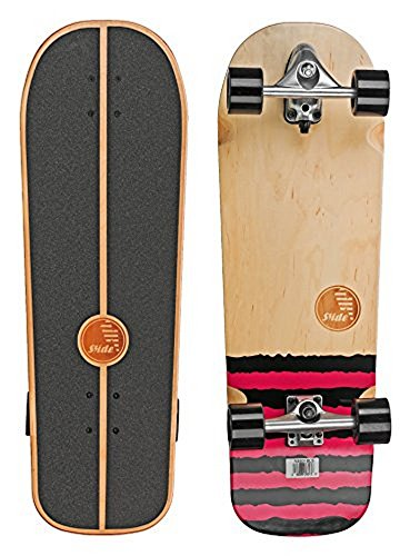 SLIDE Street Surf Skateboard black Sox 31""