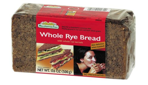 Mestemacher Whole Rye Brd - 17.6 ounce each - 12 per case. ()